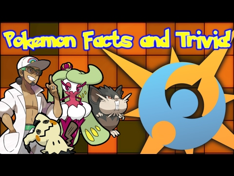 Pokemon Sun and Moon Facts and Trivia!