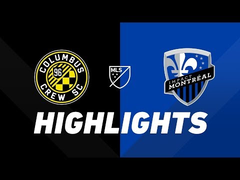 Video: Columbus Crew SC vs. Montreal Impact | HIGHLIGHTS - July 20, 2019