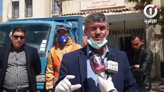 كورونا ..حملات متواصلة لتعقيم وتطهير المؤسسات والفروع البلدية بالمسيلة