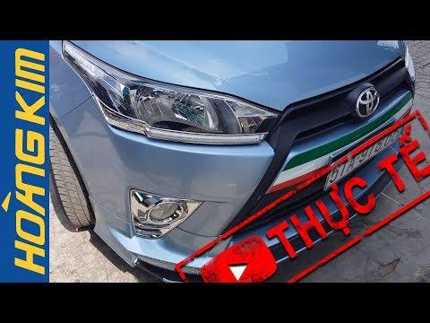 Độ Full Body Toyota yaris Tại Ô Tô Hoàng Kim