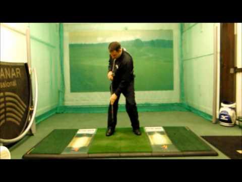 Mark Wood Golf Academy  – Body Turn in Golf Swing