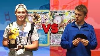 Pokemon TCG 2016 World Championship REMATCH Cody & Greninja vs Mega Audino EX by ThePokeCapital