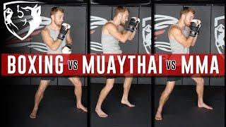 Video MMA vs Boxing vs Kickboxing: 5 Technical Differences MP3, 3GP, MP4, WEBM, AVI, FLV Oktober 2018