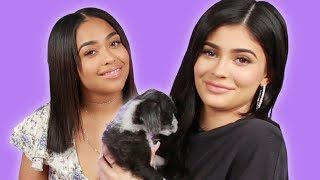 Video Kylie Jenner And Jordyn Woods Play With Puppies MP3, 3GP, MP4, WEBM, AVI, FLV Januari 2018