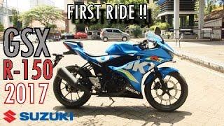 Video #83 - SUZUKI GSX-R150 First Ride! | Enak Mana sama Yamaha R15 v3.0?? | Motovlog Semarang MP3, 3GP, MP4, WEBM, AVI, FLV April 2017