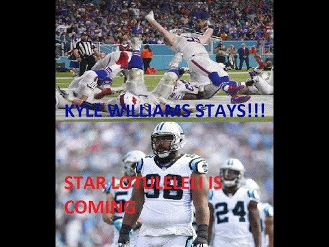 BREAKING NEWS: Bills resign Kyle Williams, sign Star Lotuleleli
