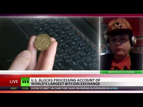 control - US authorities have frozen the account of the world's largest Bitcoin exchange, which helps move the customers' cash online. The booming digital currency has...