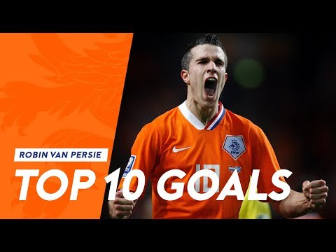 Robin van Persie | Top 10 goals in Oranje