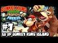 Donkey Kong Country Tropical Freeze (1080p) Part 7 Co Op - World 6 Donkey Kong Island