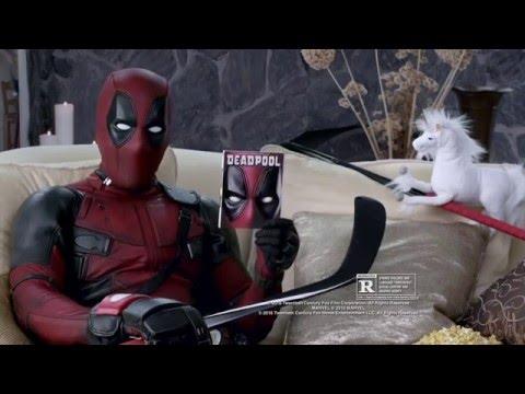 Deadpool (2016) - Blu-ray Promo Clip 'Death By Zamboni' (VO)