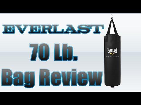 Everlast: 70 Lb. Heavy Bag Review