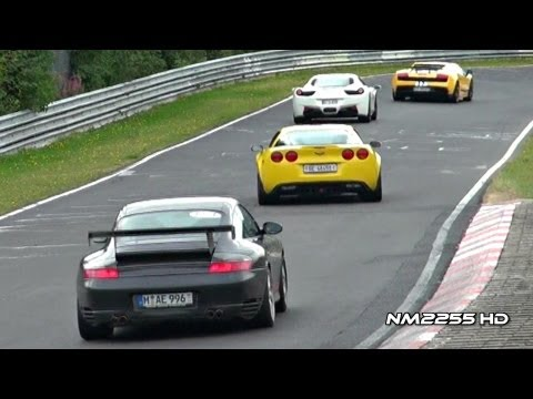 Supercar SOUNDS at Nürburgring Nordschleife