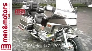 7. 1984 Honda GL1200 Goldwing Review