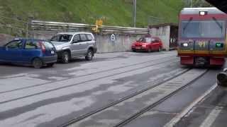 Bex Switzerland  City pictures : Gryon - Bex Train Ride (SWITZERLAND)