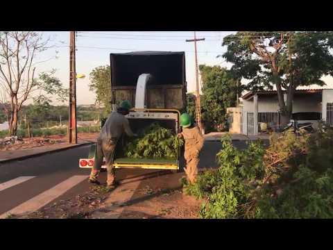 Triturador de Galhos / Picador de troncos - PDU 260 D