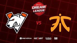 Virtus.pro vs Fnatic, DreamLeague Season 11 Major, bo3, game 1 [Casper & GodHunt]