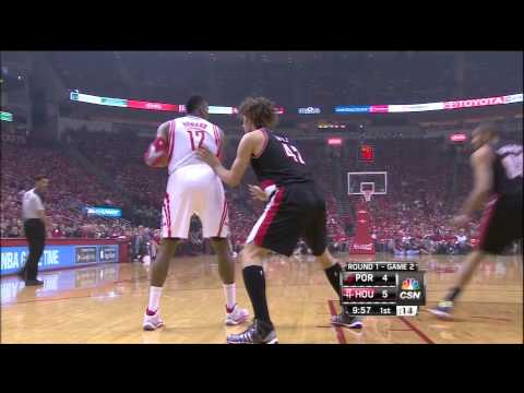 Dwight Howard's 19 point first quarter vs Blazers
