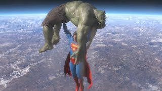 Video Superman vs Hulk - The Fight (Part 4) MP3, 3GP, MP4, WEBM, AVI, FLV Juli 2018