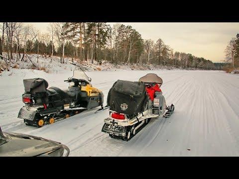 Информационный видеогид маршрута на снегоходах по реке Чусовой