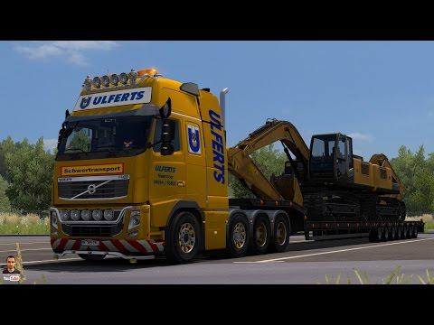 Volvo FH 2009 8×4 Ulfers v6