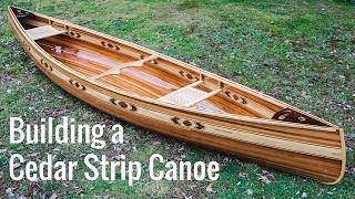 Video Building a Cedar Strip Canoe (Full Montage) MP3, 3GP, MP4, WEBM, AVI, FLV Agustus 2018