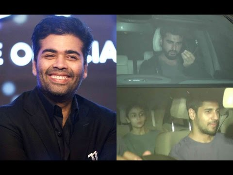 Karan Johar Host Party At His House