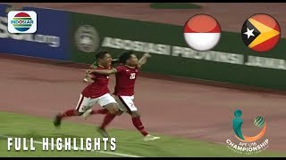 Video Indonesia (3) vs (0) Timor Leste - Full Highlights | AFF U 16 Championship 2018 MP3, 3GP, MP4, WEBM, AVI, FLV Januari 2019