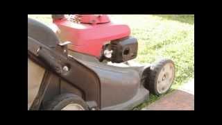 Lawn Mower backfiring