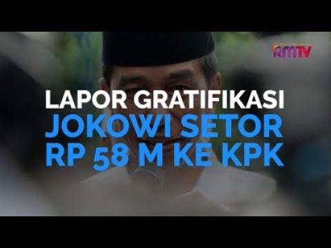 Lapor Gratifikasi, Jokowi Setor Rp 58 M Ke KPK