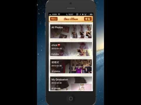 Video of DecoAlbum Purikura Camera