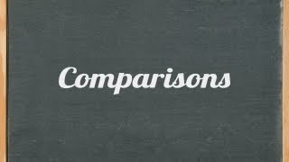 Comparisons (comparative and superlative) English grammar tutorial