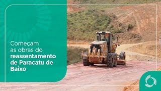 Iniciadas as obras do reassentamento de Paracatu de Baixo (MG)