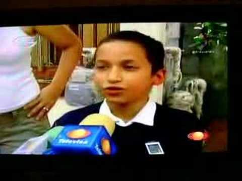 Diego, el niño que se pegó a la cama para no ir al colegio