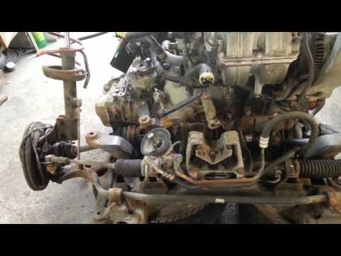 Opel zafira снятие двигателя