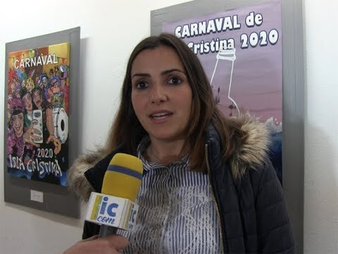 Exposición al público Carteles para el Carnaval 2020 de Isla Cristina.