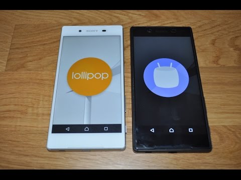 , title : 'Sony XPERIA Android 5.1.1 Lollipop versus Android 6.0 Marshmallow'