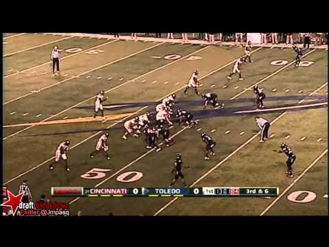 Bernard Reedy vs Utah State/Cincinnati 2012 video.