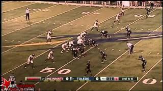 Bernard Reedy vs Utah State & Cincinnati (2012)