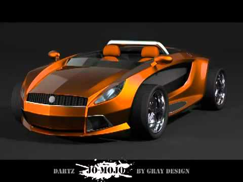 0 Dartz Jo Mojo Electric Roadster Concept