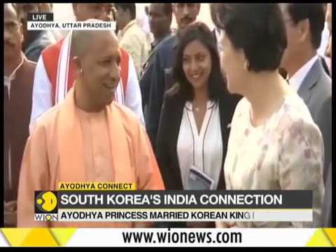 South Korean first lady in India for Diwali