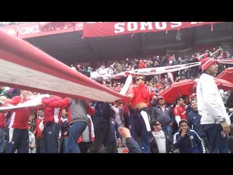 Soy del barrio de avellaneda♪ + GOL - La Barra del Rojo - Independiente