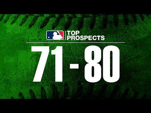 Video: MLB Pipeline's Top 100 Prospects: 80-71