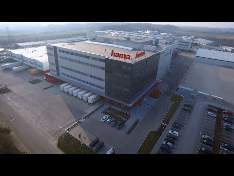 Hama logistics centre Germany, Monheim (BAY) (видео)