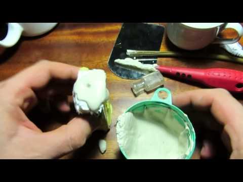 Как сделать формы из силикона своими руками видео