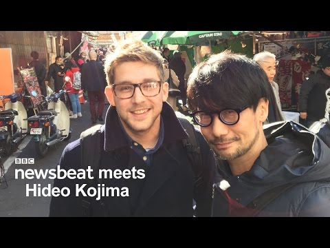 Exclusive Access To The Spielberg Of Gaming, Hideo Kojima | BBC Newsbeat