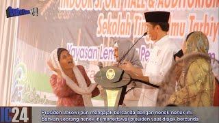 Video Kocak.. Presiden Jokowi bercandain 4 nenek di podium, Nenek ini ketawain Presiden ngakak MP3, 3GP, MP4, WEBM, AVI, FLV Agustus 2018