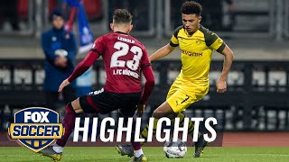 1. FC Nürnberg vs. Borussia Dortmund | 2019 Bundesliga Highlights by FOX Soccer