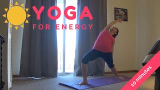 Video 10 Minute Morning Yoga Sequence for Energy with Alex Howlett MP3, 3GP, MP4, WEBM, AVI, FLV Maret 2018