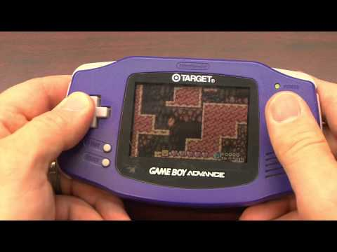 Classic Game Room - NINTENDO GAME BOY ADVANCE review model AGB-001
