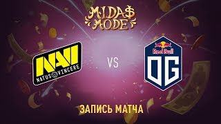 Natus Vincere vs OG, Midas Mode, game 1 [Jam]